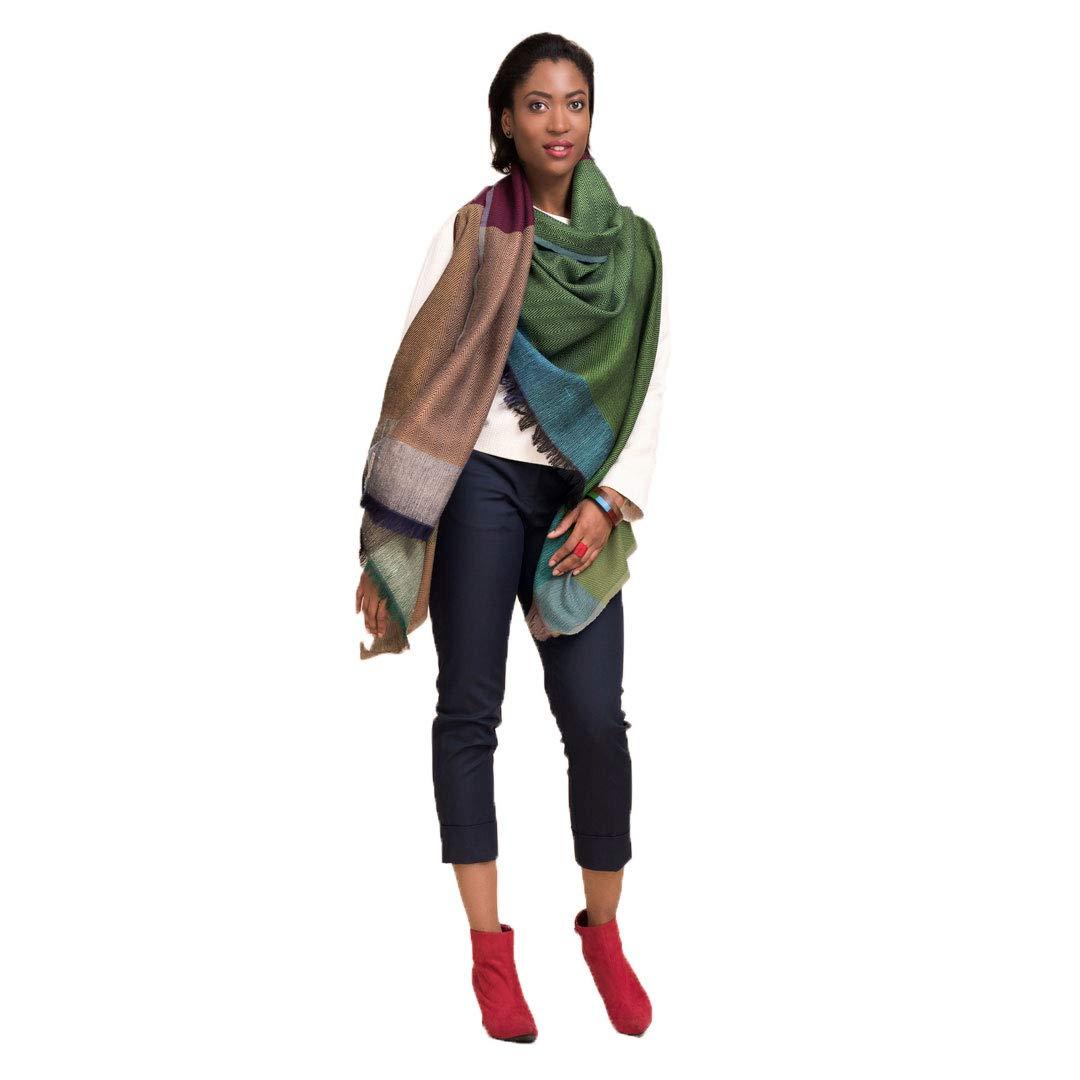 KARIGAR Merino Wool Poncho Cape: 100% Natural Handmade Shawl Wrap (New Delhi)