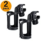 ACKO 2 Pack Cup Holder Bike Bottle Cup Holders 360 Degrees Rotation Drink Bottle Cup Holder for Bicycle Wheelchair Baby Stroller Bike Cup Holders