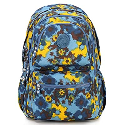 70%OFF Oakarbo Backpack Multi-Pocket School Bag Nylon Travel Daypack ... e6cc046635c64