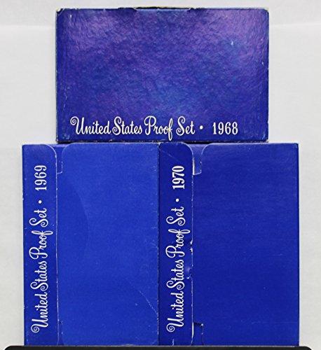 1968 - 1970 US Mint Set Clad Proof Set Run 15 coins