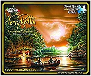 White Mountain Puzzles Evening Rendezvous 1000 Piece Jigsaw Puzzle