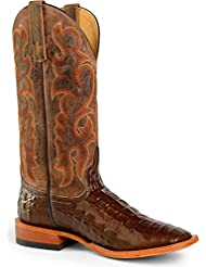 Horse Power Men's Nile Croc Western Boot Square Toe - Hp1070 Move