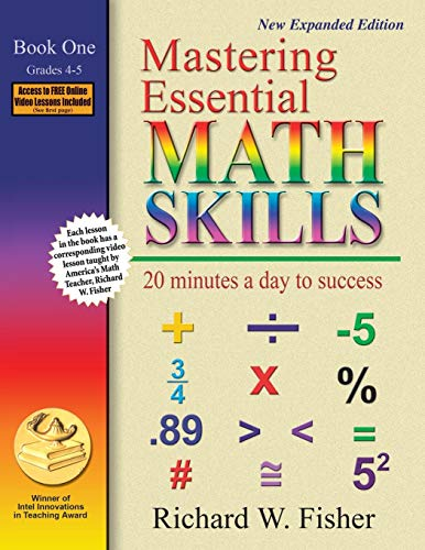 Mastering Essential Math Skills: 20 Minutes a Day to Success, Book 1: Grades 4-5 (The Practice Of Statistics 2nd Edition Answers)