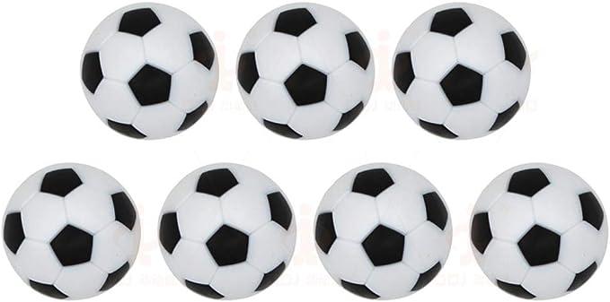 Lezed 7 Piezas Mini 32 mm Mesa Futbolín Mesa Futbolín 32 mm Fútbol ...