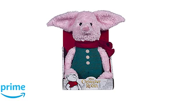 Disney Christopher Robin Collection Winnie The Pooh Piglet - Peluche (25 cm): Amazon.es: Juguetes y juegos