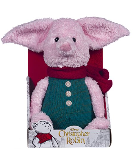 Amazon.com: Posh Paws 37468 Christopher Robin Collection Winnie the Pooh Piglet Soft Toy: Toys & Games