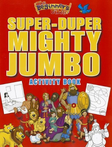 Jumbo Activity - The Beginner's Bible Super-Duper, Mighty, Jumbo Activity Book by Zondervan (2012-09-08)