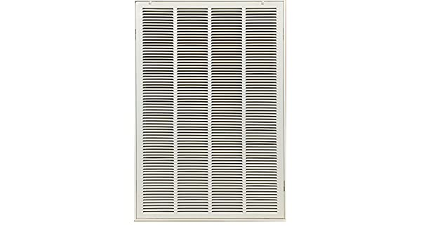 KozziAir Steel Return Filter Grille Stamped-Face 20 X 20 duct opening size