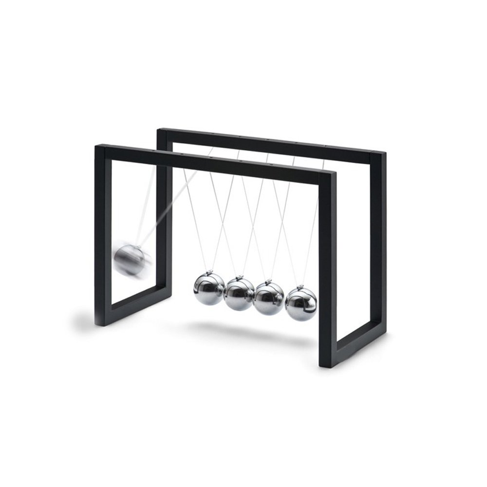 MEECool Newton's Cradle Swing Ball Creative modern minimalist Newton pendulum ball motion machine European billiards bumper ball male birthday gift table ornaments