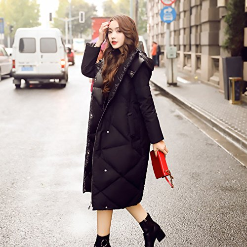 Winter Knee Of Jacket Jacket The In Long Black Thick Down The Type Cocoon Length Thin Section Women Warm Xuanku Were vxBgqwn7F