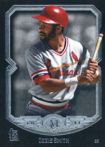 2017 Topps Museum #90 Ozzie Smith St. Louis Cardinals Baseball - 90's Museum