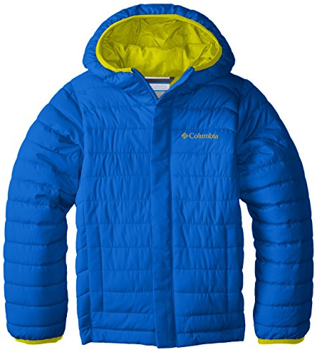 Jacket Super Columbia Powder Boys' Blue Lite Puffer rXPPInBf