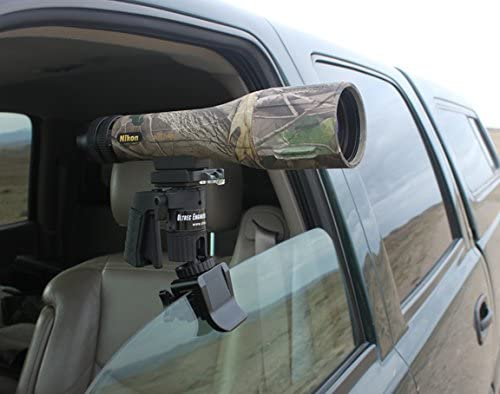 Ultrec Pistol Grip Car Window Clamp Mount for Spotting Scopes, Cameras and Binoculars