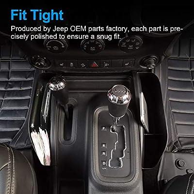 JOINT STARS Jeep JK Grab Tray Passenger Storage Tray Organizer & GearTray Gear Shifter Console Storage Organizer for 2011-2020 Jeep Wrangler JK JKU, Interior Accessories, Black: Automotive
