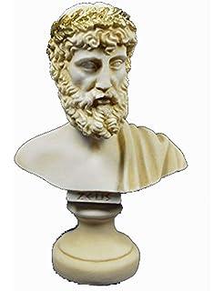 Zeus Escultura Busto Rey de los dioses Estatua de entre en la antigua Grecia