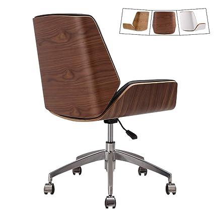 Silla de escritorio de oficina moderna de mediados de siglo ...