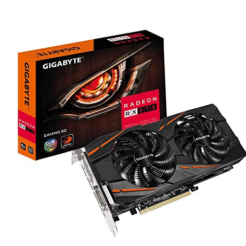 (GIGABYTE Radeon RX 570 DirectX 12 8GB 256-Bit GDDR5 PCI Express 3.0 x16 CrossFireX Support ATX Video Card Model GV-RX570GAMING-8GD)
