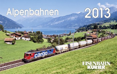 Alpenbahnen 2013