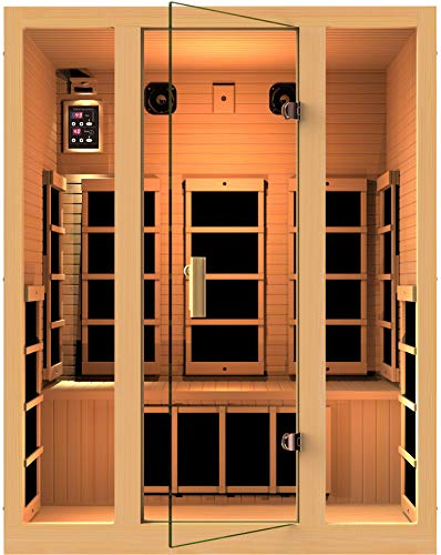 JNH Lifestyles MG301HCB MG317HB Far Infrared Sauna (Jnh Lifestyles 2 Person Far Infrared Sauna)
