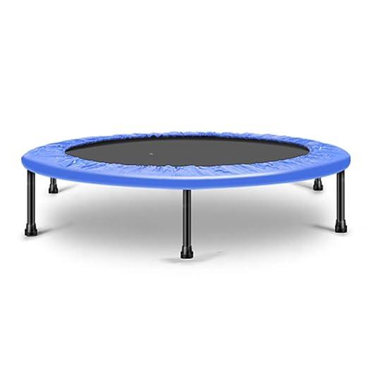 Amazon.com: ZAQ Child Trampoline Indoor - Blue/Pink Exercise ...