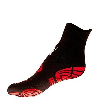 Calcetines Action – negro & rojo, negro y rojo, ...