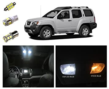 51rAyc7NYoL._SX355_ amazon com nissan xterra led package interior tag reverse  at eliteediting.co