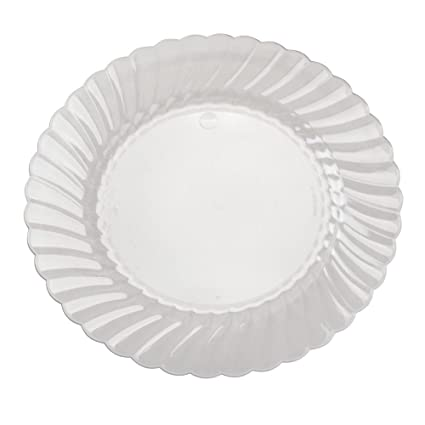 Classicware 9-inch Clear Plastic Plates 18 Per Pack  sc 1 st  Amazon.com & Amazon.com | Classicware 9-inch Clear Plastic Plates 18 Per Pack ...