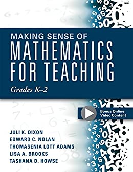 Amazon making sense of mathematics for teaching grades k 2 making sense of mathematics for teaching grades k 2 communicate the context behind fandeluxe Image collections