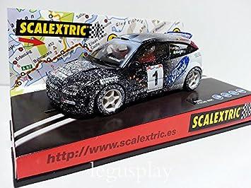 SCX Slot Scalextric 6062 Ford Focus WRC Efecto Nieve: Amazon.es: Juguetes y juegos