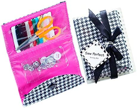 裁縫セット ソーイングセット 10色縫い糸 携帯式 ポータブル