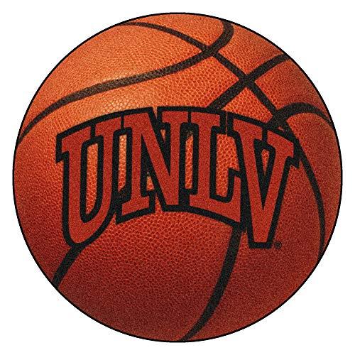 FANMATS NCAA Univ of Nevada Las Vegas Rebels Nylon Face Basketball Rug ()