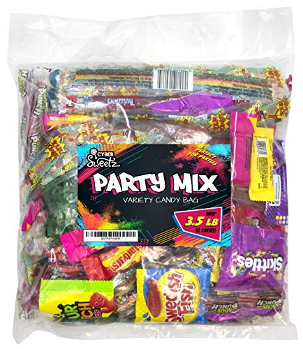 Variety Candy Bag - Name Brand Party Mix - Kids Birthday Pinata, Goodie Bag, Party Favor Assorted Filler for $<!--$14.99-->