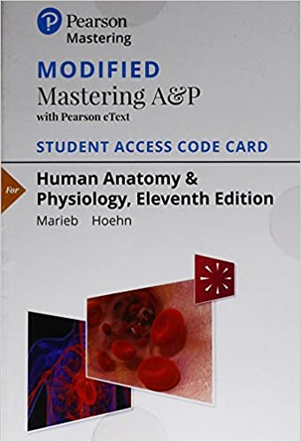 Amazon.com: Modified Mastering A&P with Pearson eText -- Standalone ...