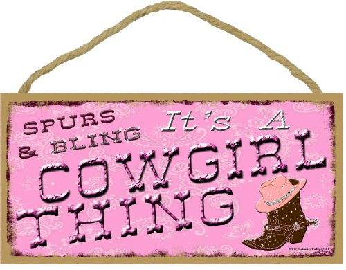 Spurs & Bling It's a Cowgirl Thing Western Rodeo Pink Boots 5