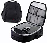 Navitech Protective Portable Projector Carrying Case and Travel Bag for the OPTOMA GT1080 Short Throw Gaming + OPTOMA S321 3D + OPTOMA ML750ST Short Throw