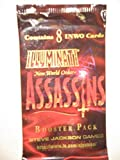 Illuminati New World Order Assassins Expansion Booster Pack 1995 SJG Inc.