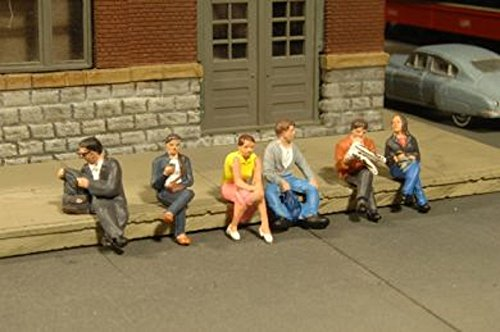 Bachmann Industries Miniature O Scale Figures Seated for sale  Delivered anywhere in USA
