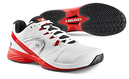 HEAD Nitro Pro Men's Tennis Shoes White/Red 10