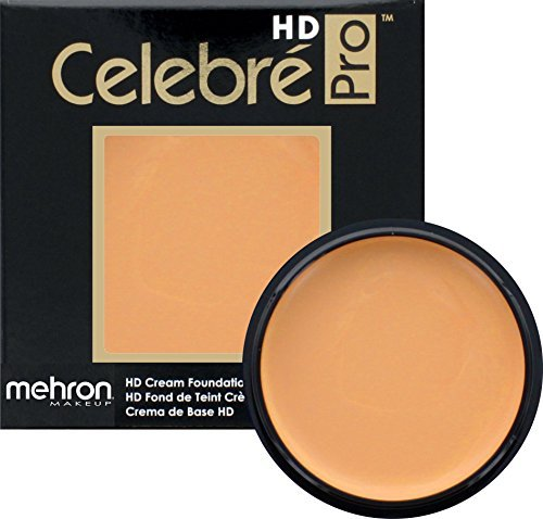 Mehron Makeup Celebre Pro-HD Cream Face & Body Makeup (.9 oz) (LIGHT 4) (Pump Water Lt4)