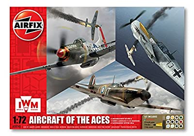 Airfix Aircraft of The Aces Gift Set (1:72 Scale)
