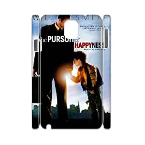 AKERCY The Pursuit of Happiness Phone 3D Case For Samsung Galaxy note 3 N9000 [Pattern-1]