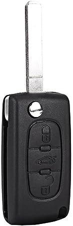 Salpie Schlüssel Cover Fernbedienung Für Peugeot 205 Elektronik