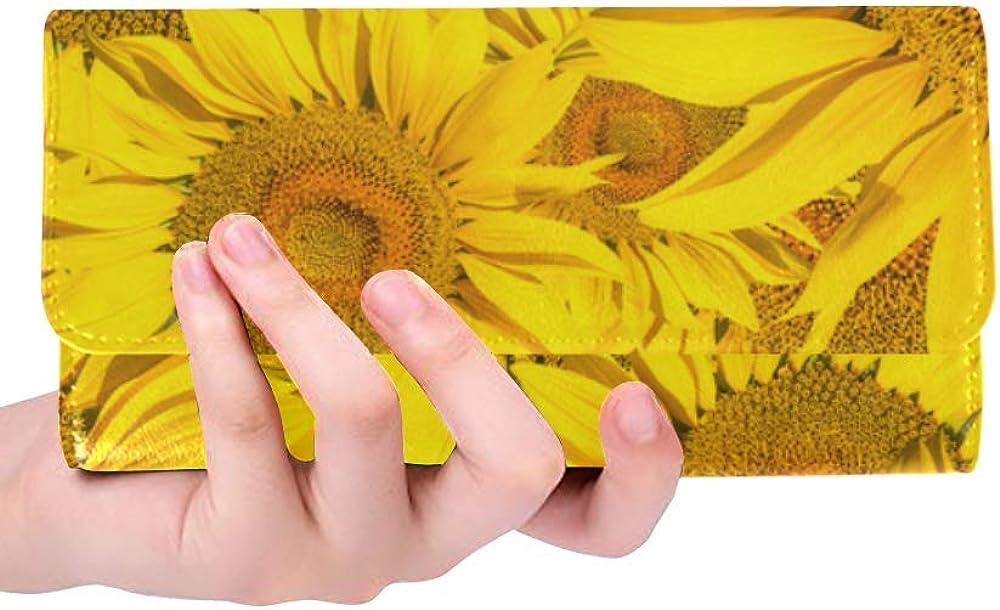 Long Clutch Wallet Yellow...