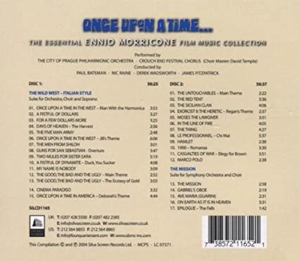 Once Upon A Time: The Essential Ennio Morricone Film Music ...