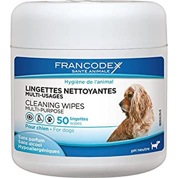 Francodex–Toallitas limpiadoras para perros – Ojos ...
