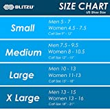 BLITZU Compression Socks 20-30mmHg for Men