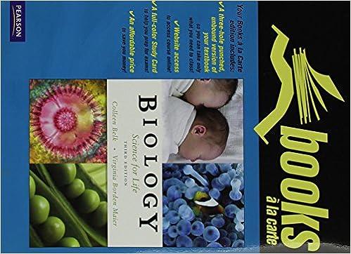 Colleen belk biology science life abebooks.