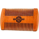 4-in-1, Premium 360 Medium Soft Wave Brush Set with BONUS Beard Comb, Durag, Travel Bag | Grooming Kit to Cultivate Waves and Style Beards | Look Professional all the time - by The Wood Warehouse