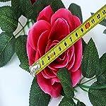 SMYLLS-6PCS48-FT-Artificial-Rose-Vines-Fake-Silk-Flowers-Rose-Garlands-Hanging-Rose-Ivy-Plants-for-Wedding-Home-Office-Arch-Arrangement-Decoration-Multicolor