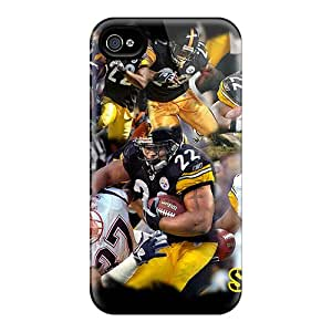 Durable Cases For The Iphone 6plus- Eco-friendly Retail Packaging(pittsburgh Steelers)